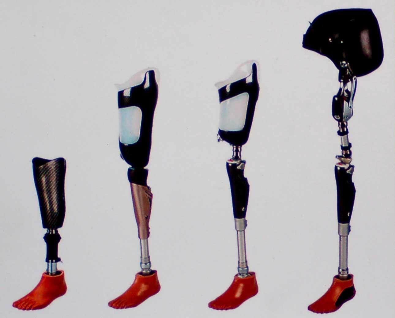 Eksempler på forskellige protesetyper