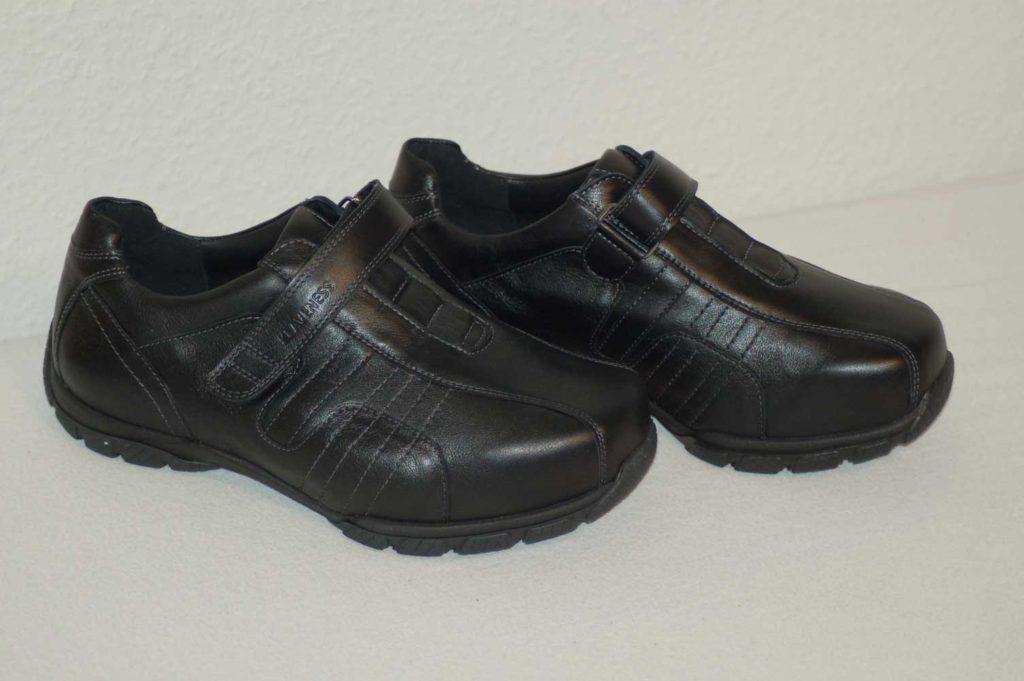 sko med hård sål
